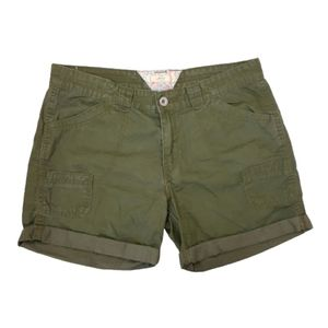 Levis Shorts Size 100% Cotton Olive Green